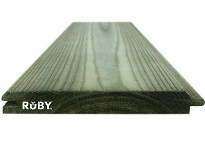 £1097.90 • Buy 100x 3.6m 121mm X 14.5mm Treated Wooden Tongue & Groove Cladding Boards