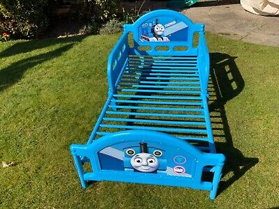 £10 • Buy Thomas The Tank Engine Blue Toddler Bed Used