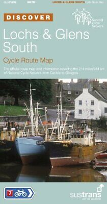 £4.49 • Buy Lochs & Glens South - Sustrans Cycle Route Map: Sustrans Of... Sheet Map, Folded