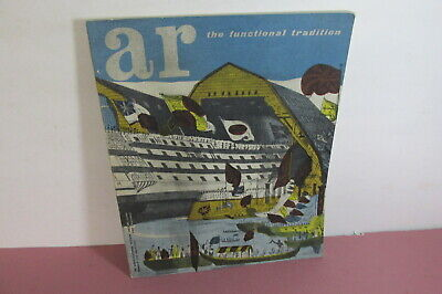 £13.99 • Buy The Architectural Review, July 1957, Functional Tradition Issue, Illustrated