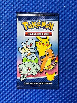 $6.95 • Buy Pokemon 25th Anniversary McDonalds Special Promo Sealed (1) Card Pack