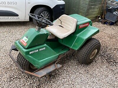 £200 • Buy Ransomes Motor Rake Kohler Ride On Mower Lawn Golf Ménage Horse Course Tractor