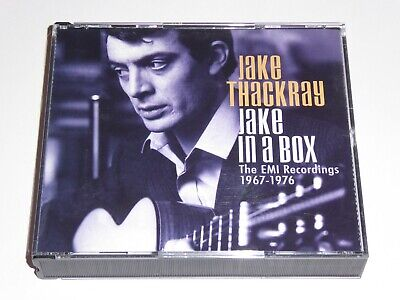 £39.99 • Buy Jake Thackray - Jake In A Box: The EMI Recordings 1967-1976 - 4x CD SET EXC COND