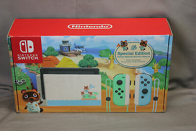 $ CDN378.32 • Buy Nintendo Switch Animal Crossing New Horizons Special Edition  Game Console