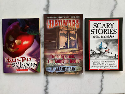 £5.78 • Buy 3 Ghost Story Books Young Reader Haunted Schools Town Bodie Scary True Stories
