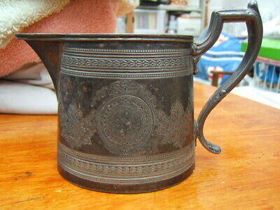 £5.50 • Buy Old Pewter Jug With Assay Marks