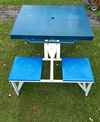 £10 • Buy Camping Folding Picnic Table Chairs (collection Only )