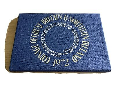 £10.58 • Buy 1972 Coinage Of GB & Northern Ireland Proof Coin Set As Shown