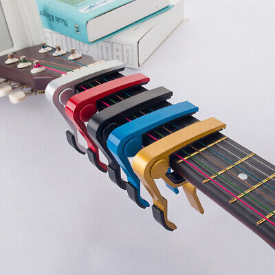 $ CDN5.27 • Buy Advanced Guitar Capo Quick Change Tune Clamp Acoustic Electric Classic GuitXNSG
