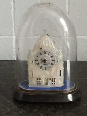 £30 • Buy Stunning Antique Roi Paris Mother Of Pearl Clock In Glass Dome