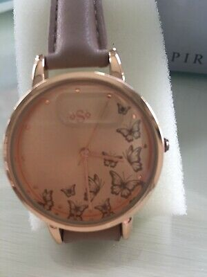 £9 • Buy Lovely Rose Gold Look Spirit Butterfly Watch. New