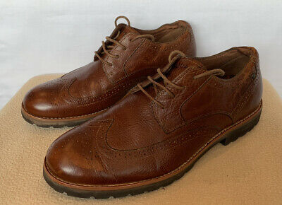 £16.50 • Buy Mens Rockport Brogues With AdiPrene By Adidas Soles.. Tan.. Size 8.5.. V.G.C..