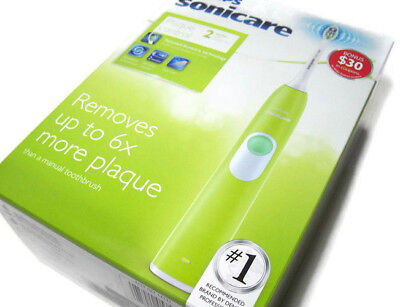 AU79.87 • Buy Philips Sonicare Plaque Control Series 2 Green Rechargeable Electric Tooth Brush