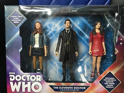 £16 • Buy Character Doctor Who 11th Dr 5  Action Figure B&M Set - Amy Pond, Oswin Oswald
