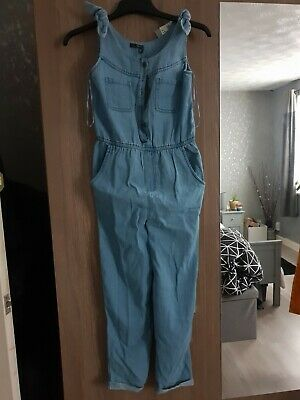 £10 • Buy Girls Dungarees Age 11-12