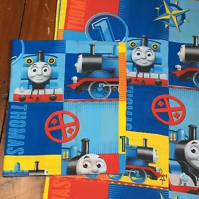 £8.99 • Buy Thomas The Tank Engine Toddler Cot Bed Duvet Cover & Pillow Case