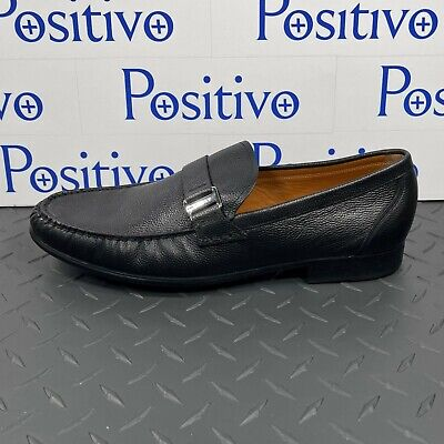 £152.61 • Buy Bally Mens Colbar Black Leather Loafers Shoes US 13 New