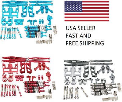 $ CDN78.93 • Buy WLTOYS 12428 Upgrade Parts Kit BLUE RED GRAY 1/12 Complete Set