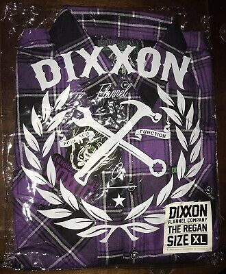 """$87 • Buy DIXXON FLANNEL CO.  The Regan"""" Size XL Extra Large SOLD OUT! New In Bag!"""