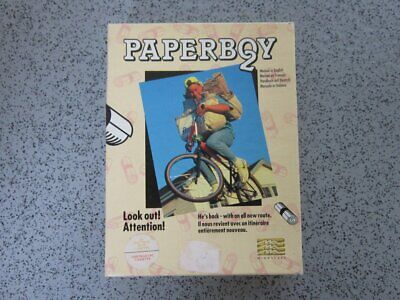 £6.50 • Buy Amstrad CPC & Spectrum * PAPERBOY 2 * 464, 664, 6128 Tested Game