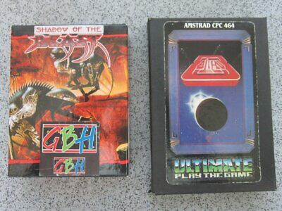 £3.95 • Buy Amstrad CPC * ALIEN 8 & SHADOW Of The BEAST * 464, 664, 6128 Tested Games