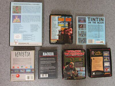 £7.50 • Buy Amstrad CPC * 7 VARIOUS, OPERATION THUNDERBOLT Etc * 464, 664, 6128 Tested Games