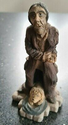 £75 • Buy Clarecraft Discworld DW74 Foul Ole Ron Signed By Sculptor