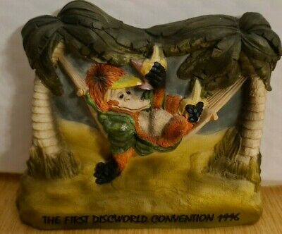 £99 • Buy Clarecraft Discworld DWE4 Librarian In A Hammock Rare Event Piece Limited Ed.