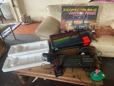 £135 • Buy Vintage ZX Spectrum Plus 2 Limited Edition Action Pack FULL SET UP No Games