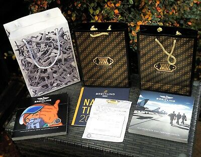 £299 • Buy Breitling Super Avenger Original Replacement Gift Bags Catalogues And Paperwork