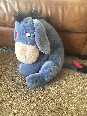 £4 • Buy Large Eeyore From Winnie The Pooh Soft Toy