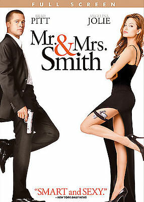 $0.99 • Buy Mr. And Mrs. Smith (DVD, 2005, Full Screen)