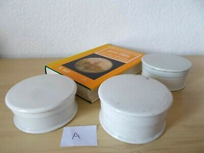 £14.95 • Buy 3 CERAMIC POT & LID : VICTORIAN / EDWARDIAN - Toothpaste Bears Grease Etc (A)