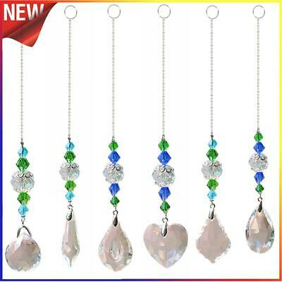 £2.11 • Buy DIY Crystal Glass Clear Chandelier Pendant Faceted Prism Part Hanging Decor