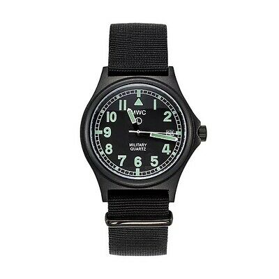 £93.81 • Buy MWC Men's Military Watch G10 50m PVD Stealth With Battery Hatch 60 Month Battery