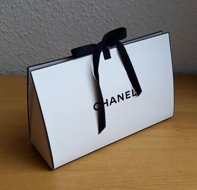 £4.55 • Buy Authentic Chanel Empty Gift Bag With Ribbon Tie
