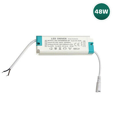 £9.95 • Buy 48W LED Driver Transformer Panel Light Power Supply With Female Barrel Connector