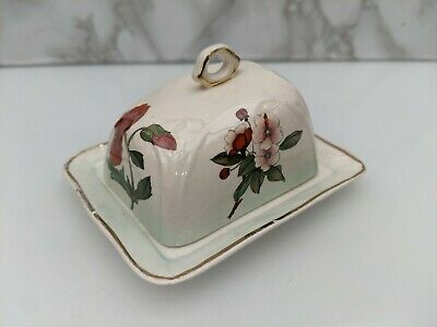 £4 • Buy Mini Royal Worcester Palissy Butter Dish (Royale Edition)