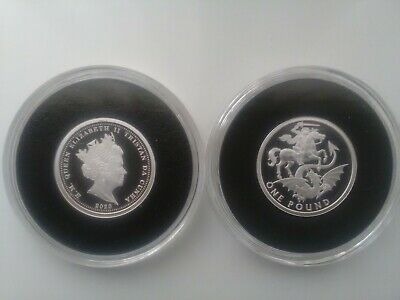 £18.99 • Buy  2020 St George And The Dragon Solid Silver Proof£1 Coin Coa