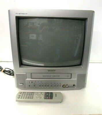 £84.95 • Buy Toshiba VTV1403S 14'' Video TV Combo Retro Gaming VHS Combi Colour With Remote