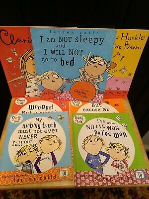 £6.50 • Buy Bundle Of Lauren Child Charlie And Lola & Clarice Bean Books 7 In Total