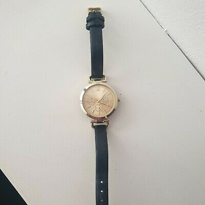 £3.50 • Buy Black And Gold Watch From New Look