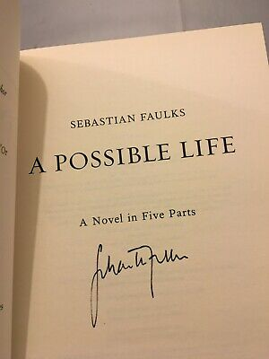£9.99 • Buy A POSSIBLE LIFE By SEBASTIAN FAULKS **SIGNED** 1st EDITION VERY GOOD CONDITION