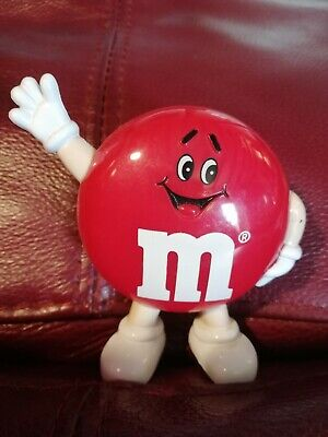£4.99 • Buy Red M And M Sweet Dispenser Small Sweets Candy Nuts Scott's Home Early M&ms