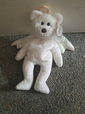 £800 • Buy Vary Rare 'Halo' TY Beanie Baby From 1998 With Rare Brown Nose