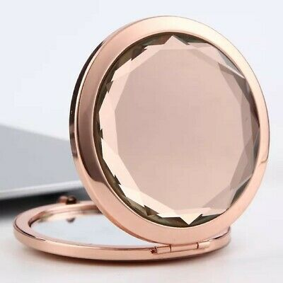£3.99 • Buy Compact Rose Gold Double Sided  Pocket Mirror