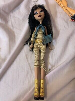 £20 • Buy Cleo De Nile Monster High Signature 2010 Doll By Mattel 'First Wave'
