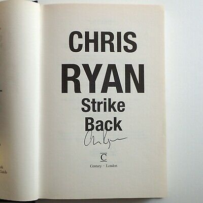"""£1.99 • Buy Author Signed Copy Of Chris Ryan's """"Strike Back"""" Hardcover – Excellent Condition"""
