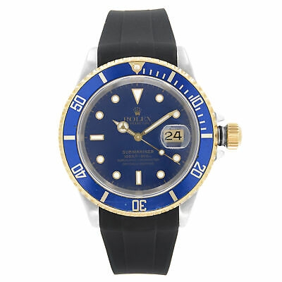 $ CDN10843.49 • Buy Rolex Submariner Two Tone Automatic Mens Watch 16613
