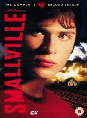 £2.49 • Buy Smallville: The Complete Second Season [2002] [DVD] - DVD  WGLN The Cheap Fast